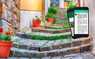 Városnéző séták online App-al