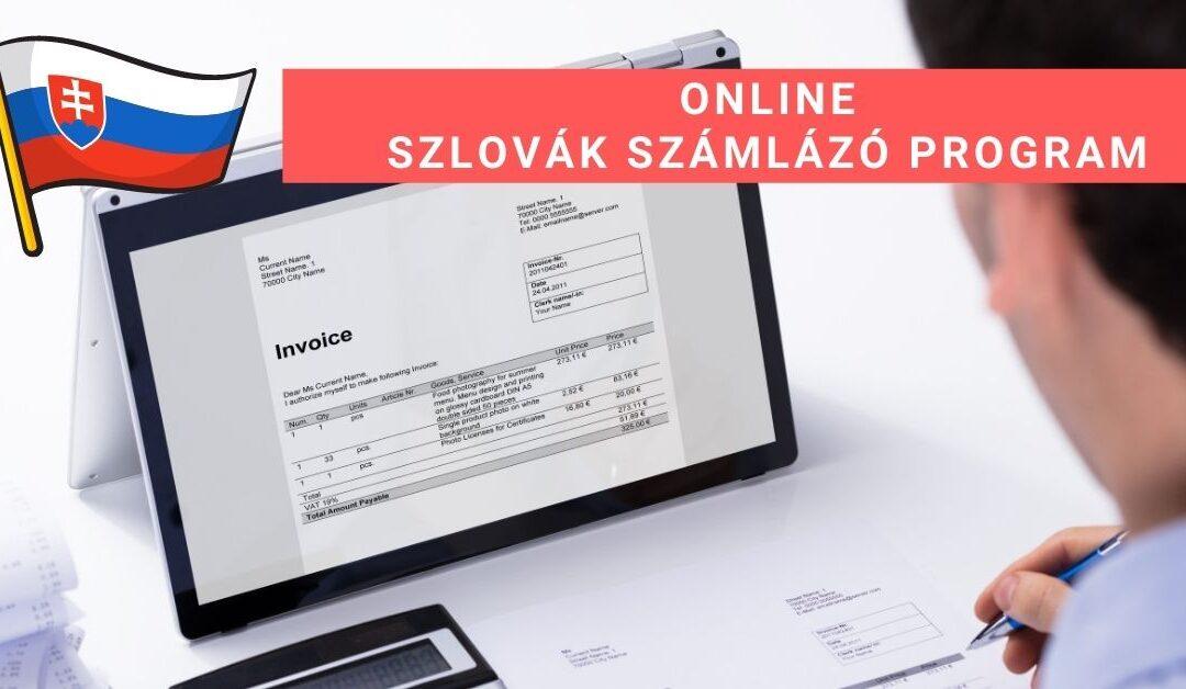 Online szlovák számlázó program